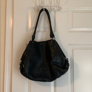 Cole Haan black shoulder purse